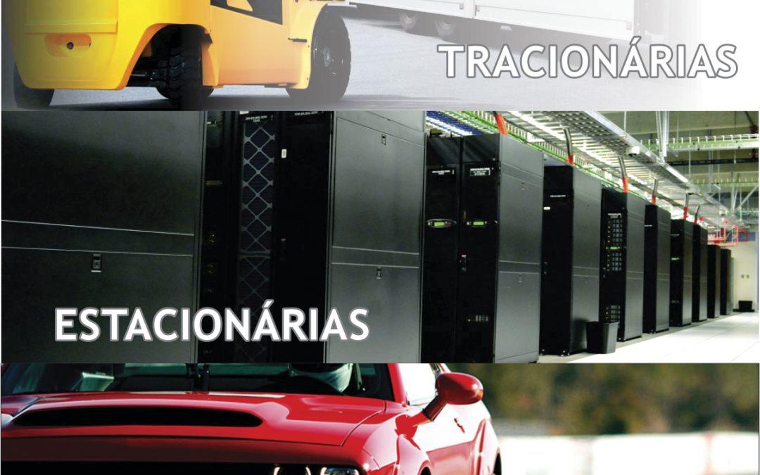 Você sabe a diferença entre baterias automotivas, estacionárias e tracionárias