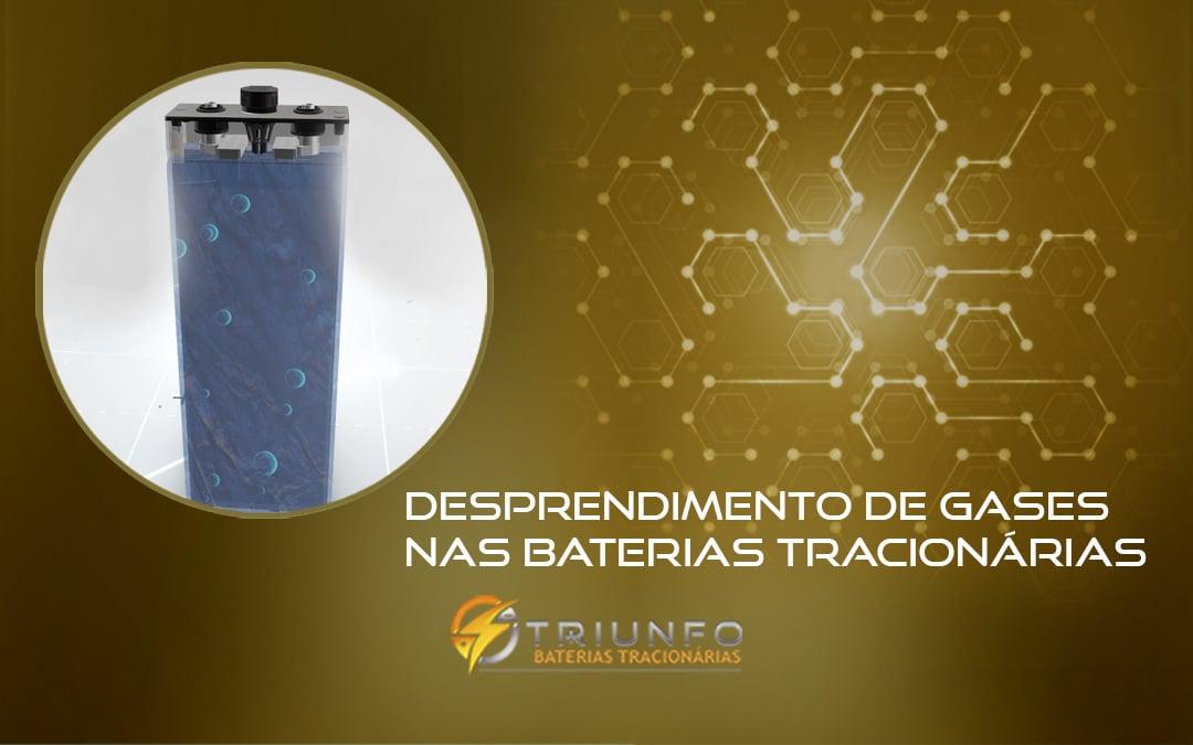 Desprendimento de Gases nas Baterias Tracionárias